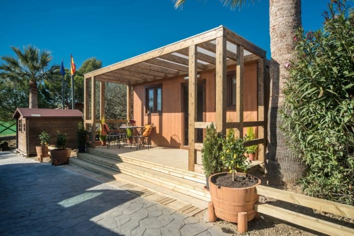 casa de madera modulo