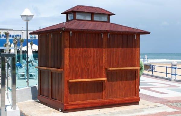 Kioscos de madera Modelo Benidorm