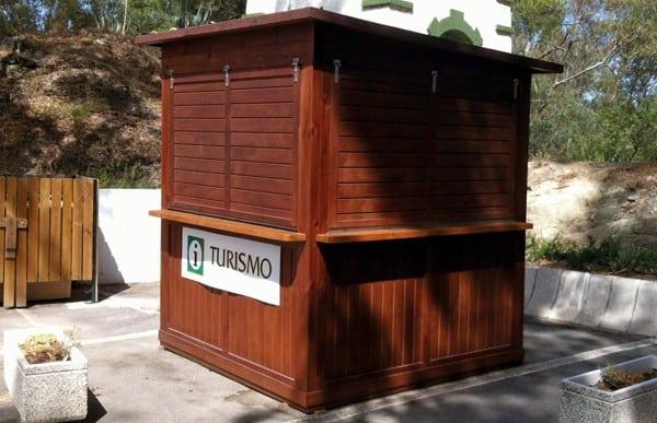 Kioscos de madera Modelo Málaga