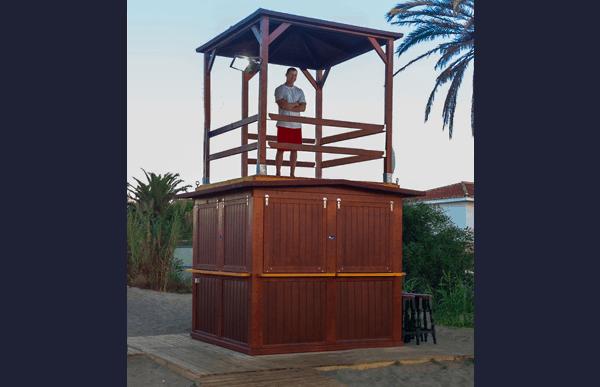 Kioscos de madera Modelo Torre