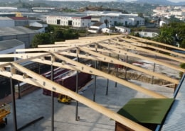 Estructura de Nave en madera