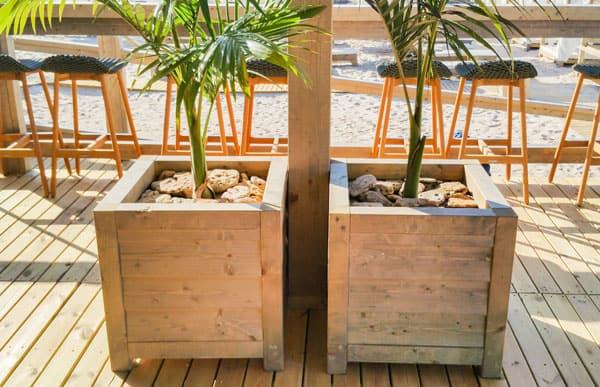 Jardinera de madera Modelo Tarragona