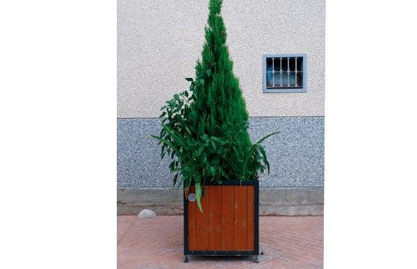 Jardinera de madera modelo CEUTA B