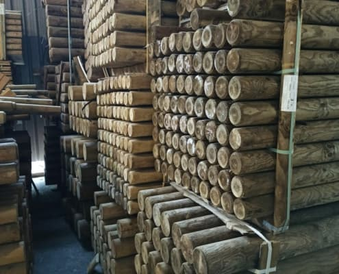 redondos de madera