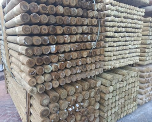 Palos redondos de madera