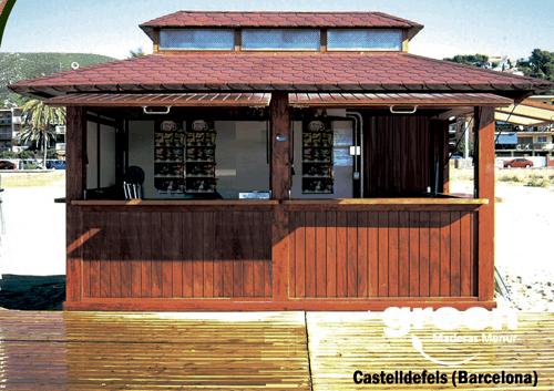 Quiosco benidorm maderas menur for Kiosco bar madera